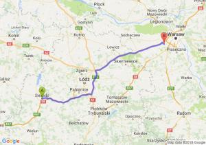 Trasa Sieradz - Pruszków