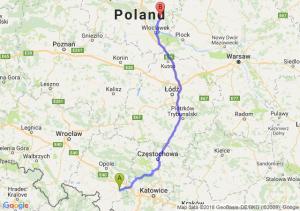 Trasa Kędzierzyn-Koźle - Lipno