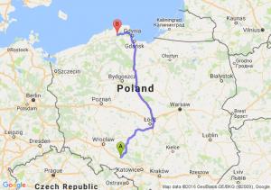 Opole (opolskie) - Lębork (pomorskie)