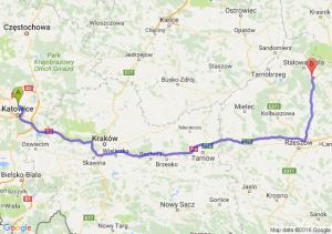 Siemianowice Śląskie (śląskie) - Nisko (podkarpackie)