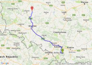 Andrychów (małopolskie) - Gostyń (wielkopolskie)