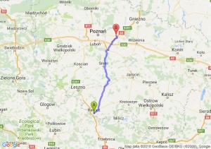 Trasa Rawicz - Kostrzyn