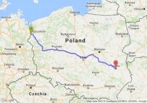 Trasa Gryfino - Lublin