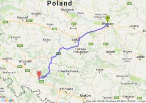 Trasa Annopol - Prądy