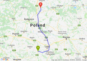 Trasa Sieradz - Kwidzyn