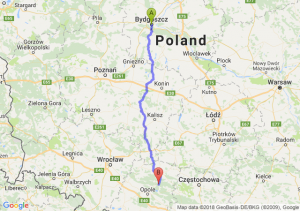 Trasa Bydgoszcz - Bierdzany