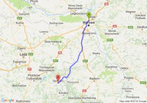 Trasa Annopol - Opoczno
