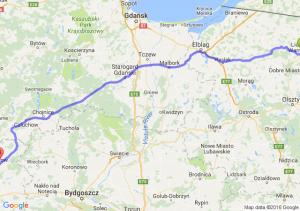 Lidzbark Warmiński (warmińsko-mazurskie) - Złotów (wielkopolskie)