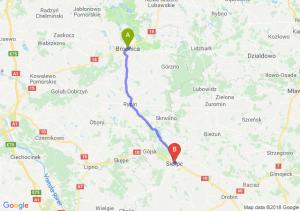 Trasa Brodnica - Sierpc