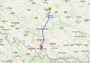 Trasa Borowa - Bielsko-Biała