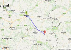 Trasa Annopol - Piaski