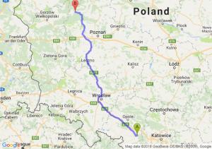 Trasa Kędzierzyn-Koźle - Wieleń