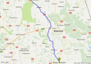 Bielsk Podlaski - Osowiec-Twierdza