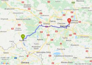 Trasa Racibórz - Sosnowiec