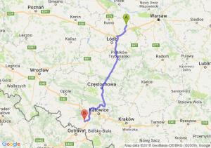 Trasa Łowicz - Rybnik