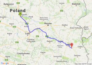 Trasa Brześć Kujawski - Kębłów