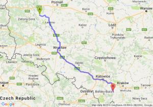 Wolsztyn (wielkopolskie) - Wadowice (małopolskie)