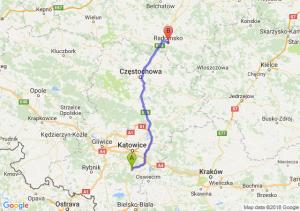 Trasa Tychy - Radomsko