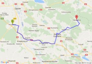 Prószków (opolskie) - Zawadzkie (opolskie)
