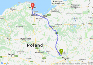 Trasa Nowy Dwór Mazowiecki - Gdynia