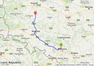 Piekary Śląskie (śląskie) - Gostyń (wielkopolskie)