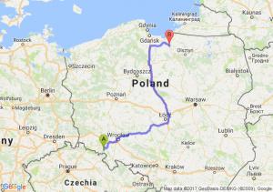 Trasa Wałbrzych - Pasłęk