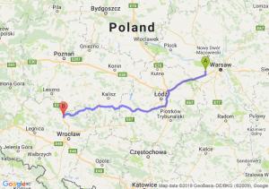 Trasa Błonie - Żmigród