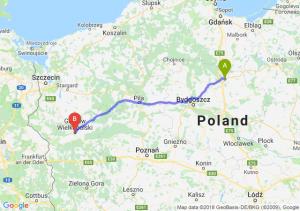 Trasa Grudziądz - Gorzów Wielkopolski