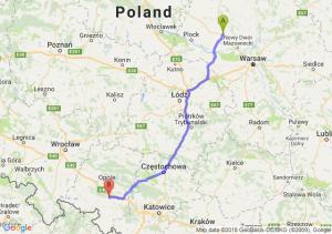 Trasa Płońsk - Krapkowice
