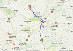 Trasa Białobrzegi - Płońsk