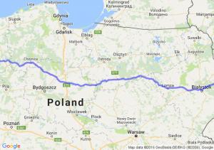 Krynki (podlaskie) - Barwice (zachodniopomorskie)