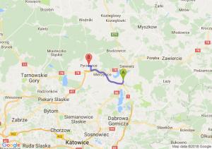 Trasa Podwarpie - Pyrzowice