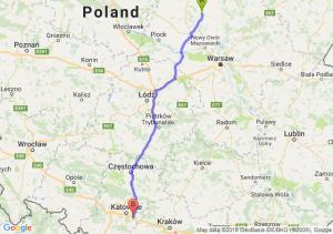 Trasa Ciechanów - Mysłowice