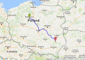 Trasa Bydgoszcz - Modliborzyce