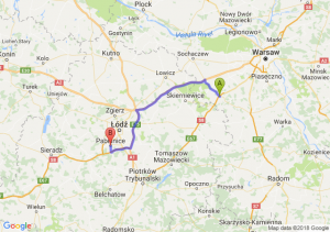 Trasa Mszczonów - Pabianice