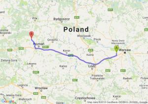 Trasa Błonie - Szamotuły