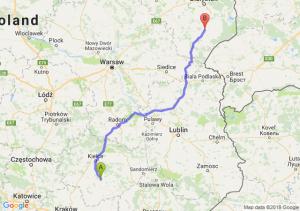Trasa Chmielnik - Bielsk Podlaski