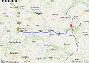 Trasa Bełchatów - Włodawa