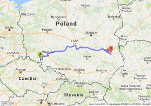 Trasa Wałbrzych - Piaski