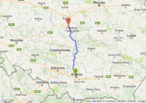 Trasa Bronowice - Tuszyn