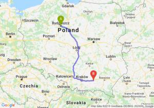 Trasa Bydgoszcz - Tarnów