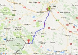 Trasa Bielany Wrocławskie - Nowa Ruda