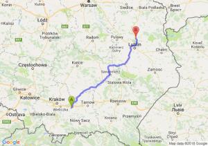 Trasa Bochnia - Lubartów