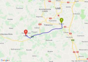 Trasa Rzgów - Łask