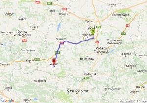 Trasa Rzgów - Wieluń