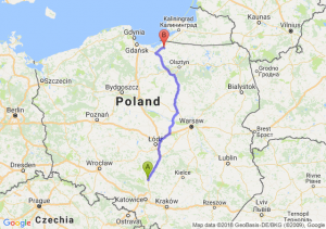 Trasa Częstochowa - Chruściel