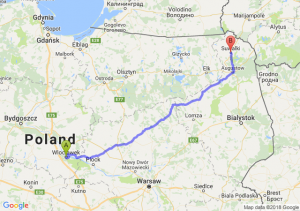 Trasa Włocławek - Suwałki
