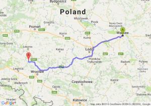 Warszawa - Piskorzyna (dolnośląskie)