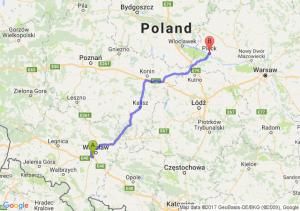 Trasa Bielany Wrocławskie - Płock