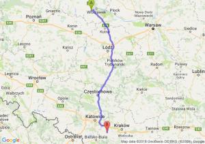 Trasa Brześć Kujawski - Zator
